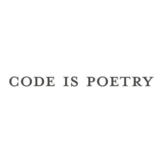 code_is_poetry_square