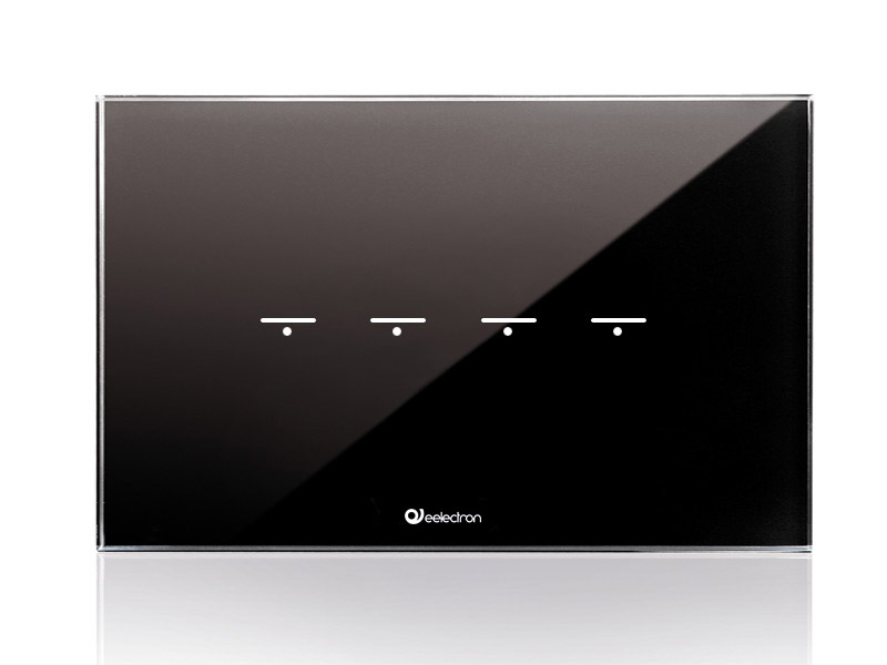 GlassPad-4ch_4Modules-Horizontal_black