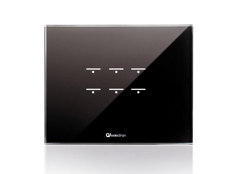 GlassPad-6ch_3Modules-Horizontal_black