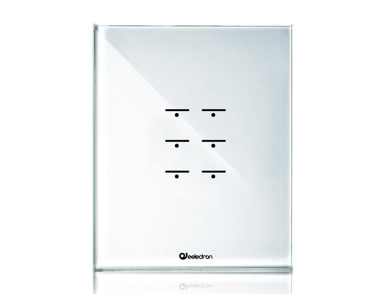 GlassPad-6ch_3Modules-Vertical_white