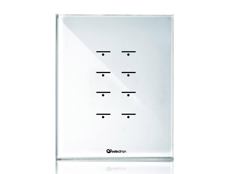 GlassPad-8ch_4Modules-Vertical_white