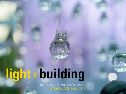 Light & Building 2016 di Francoforte