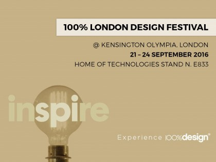 100% DESIGN – LONDRA (UK)