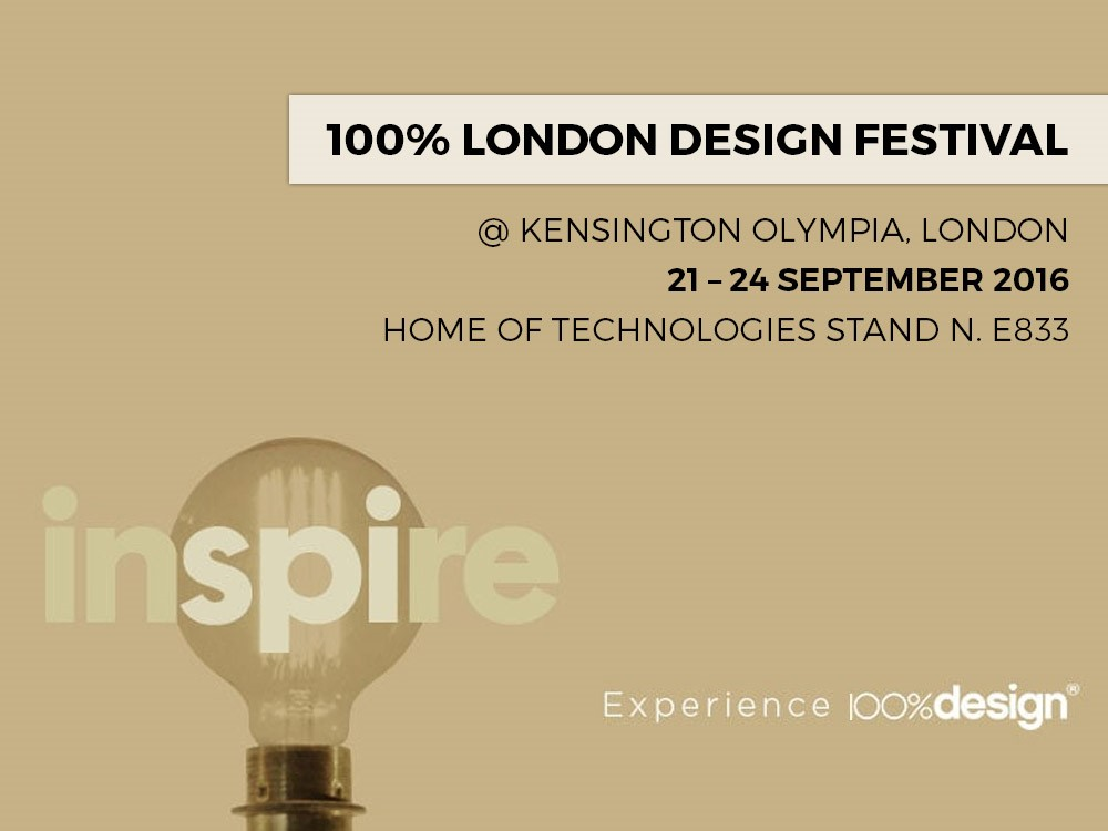 100% DESIGN – LONDON (UK)