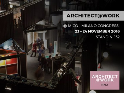 ARCHITECT@WORK – MILANO