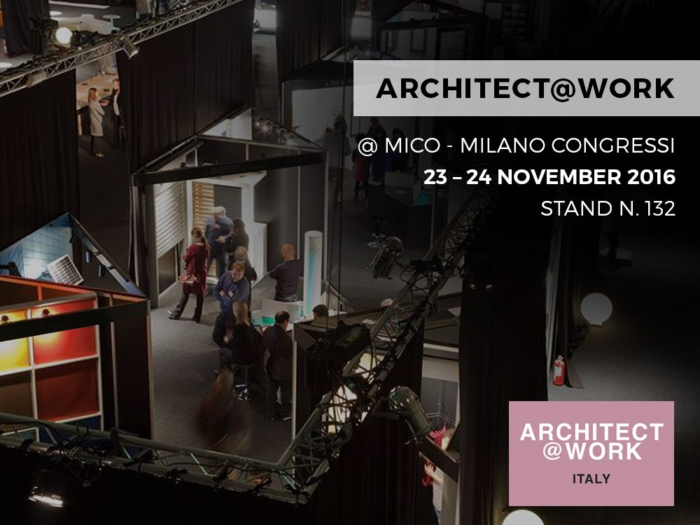 ARCHITECT@WORK – MILAN