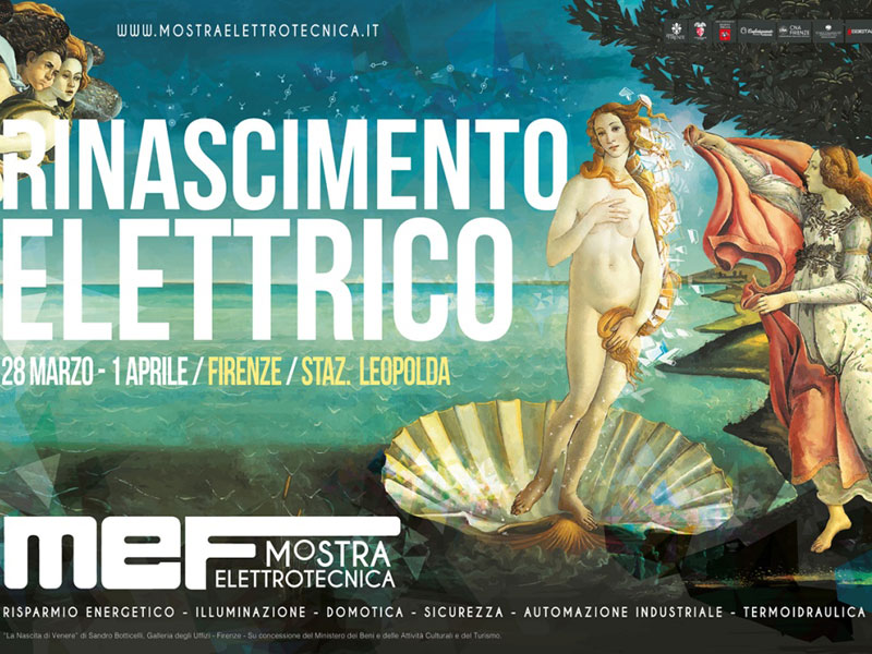 MOSTRA ELETTROTECNICA MEF – FLORENCE