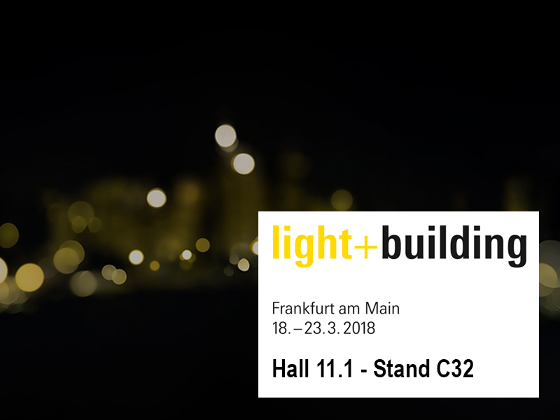 LIGHT & BUILDING 2018 – FRANCOFORTE