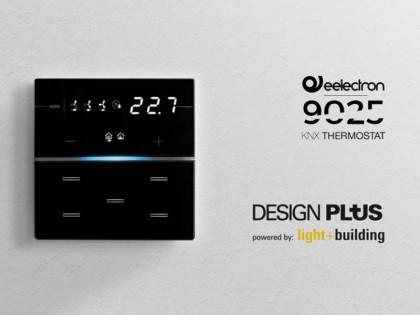 Il termostato/umidostato KNX della serie 9025 conquista il Design Plus Award