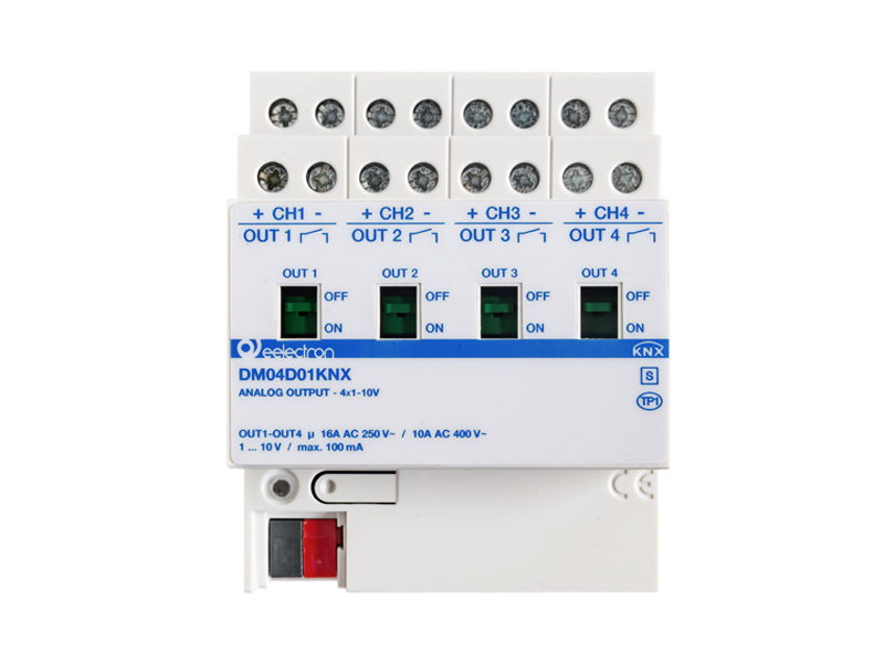 New Dimmer 4 Channels x 1-10V
