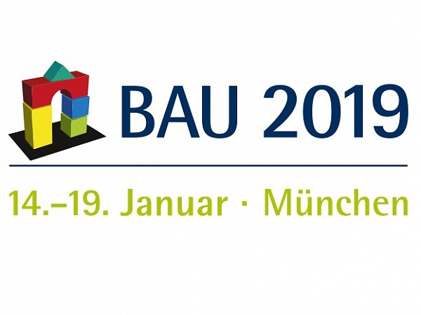 BAU 2019 | 14-19 January | Munchen