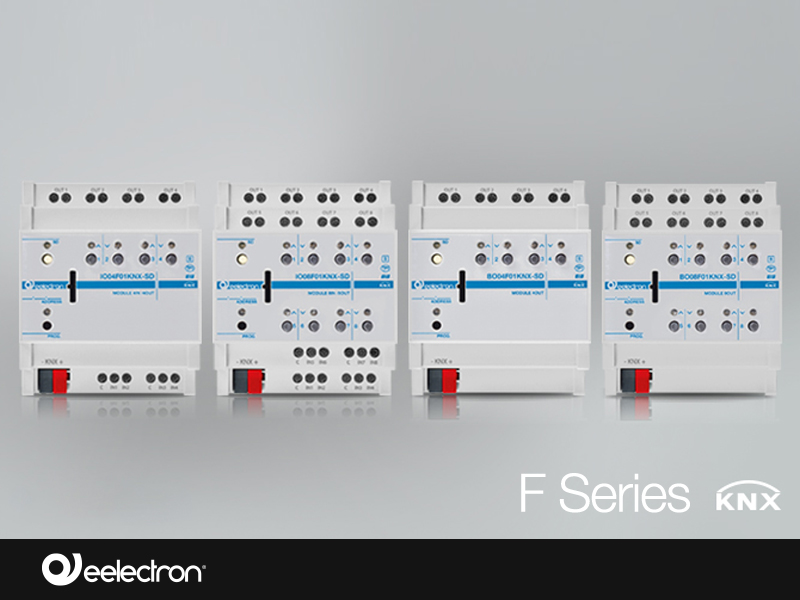 Extension of KNX actuators range – F series