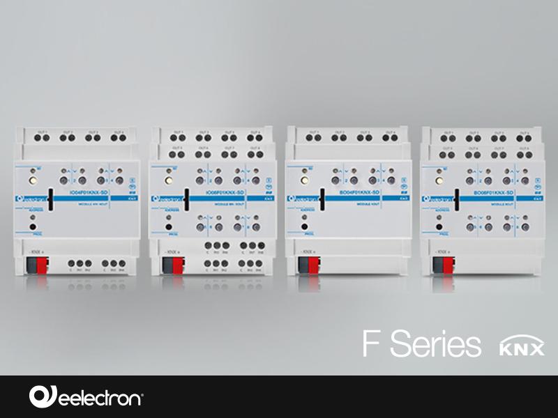 Estensione gamma attuatori KNX – Serie F