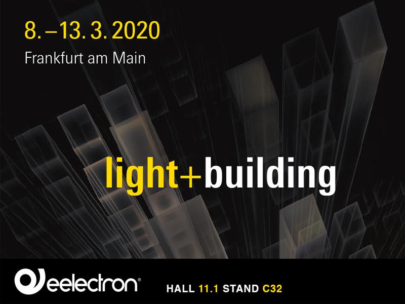 LIGHT & BUILDING 2020 – FRANCOFORTE